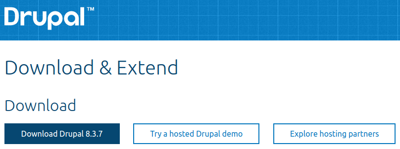 Download Drupal 8.3.7