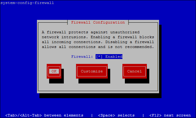 Firewall Configuration