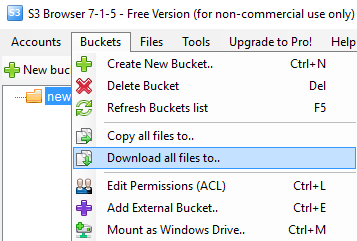 Download all files to..