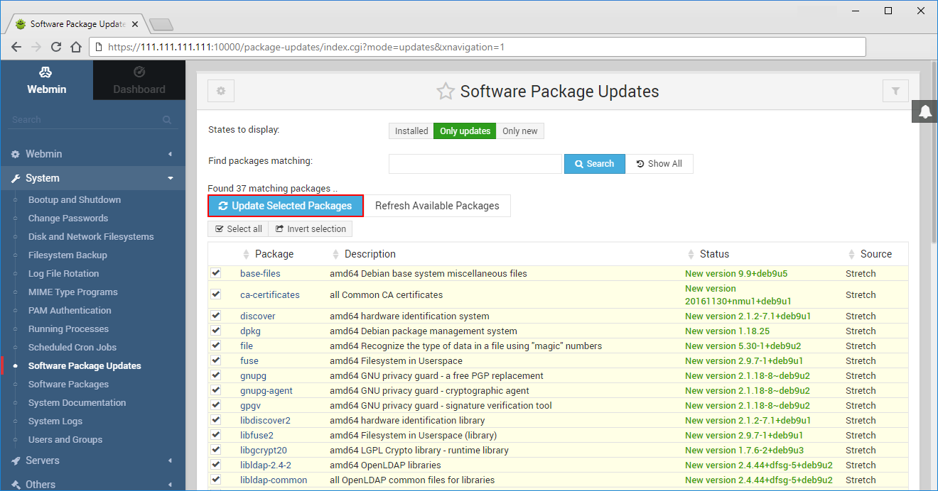 Software Package Updates